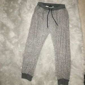 Charcoal gray joggers